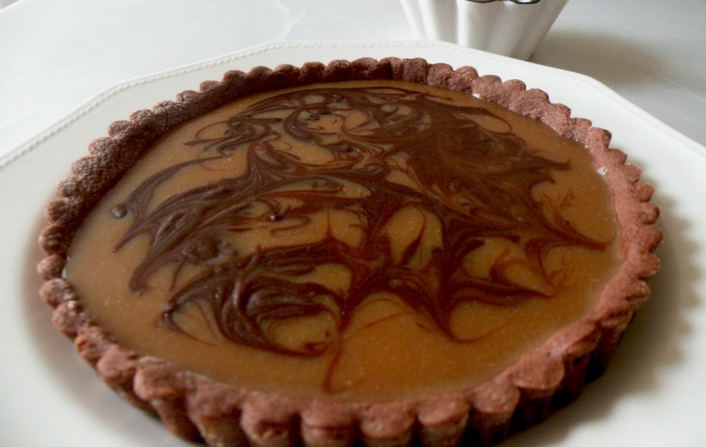 Tarta chocolate toffee (Dan Lepard)